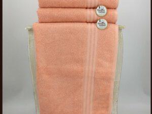 מגבת חלקה אפרסק