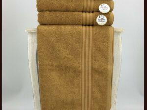 מגבת חלקה חרדל